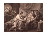King Lear and Cordelia  1791