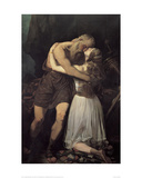 King Lear and Cordelia  1835