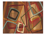 Twenty Tuesday I - Brown Square Abstract