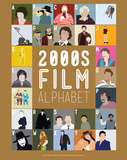 2000s Film Alphabet - A to Z Reproduction d'art par Stephen Wildish