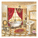 Parisian Bath - Red