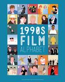 1990s Film Alphabet - A to Z Reproduction d'art par Stephen Wildish