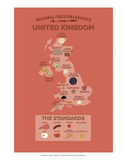 United Kingdom by Regional Fried Breakfasts