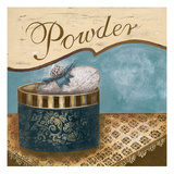 Bath Accessories I - Blue Powder