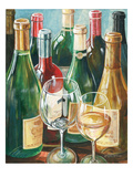 Wine Reflections II - Bottles and Glasses