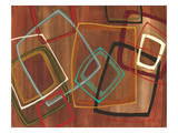 Twenty Tuesday II - Brown Square Abstract