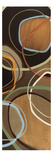 14 Friday Panel I - mini - Brown Circle Abstract