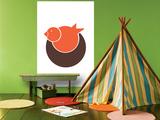 Orange Bird Nest