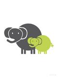 Lime Baby Elephant