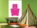 Fuschia Bear