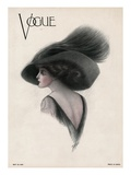 Vogue Cover - May 1910 Giclee par F. Rose