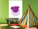 Purple Bird Nest