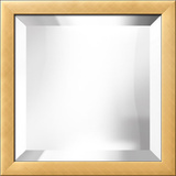 Gold Bevel Mirror
