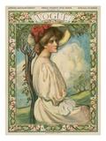 Vogue Cover - February 1906