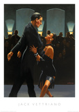 Rumba in Black Reproduction d'art par Jack Vettriano