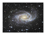 Spiral Galaxy in Antlia