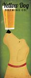 Yellow Dog Brewing Co. Reproduction d'art par Ryan Fowler