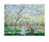 Printemps Reproductions de collection premium par Claude Monet