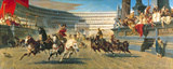 The Chariot Race  Detail