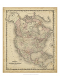 Johnson's Map of North America