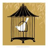 Birdcage Silhouette I