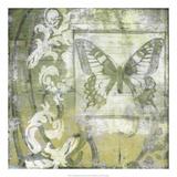 Non-Embld Butterfly & Ironwork II
