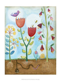 Whimsical Flower Garden I
