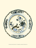 Blue and White Porcelain Plate IV