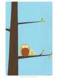 Treetop Owls I