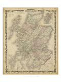 Johnson&#39;s Map of Scotland