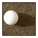 Sepia Golf Ball Study III