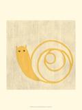 Best Friends - Snail Reproduction d'art par Chariklia Zarris