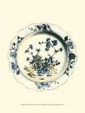 Blue and White Porcelain Plate I