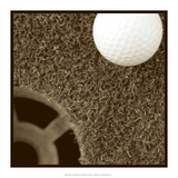 Sepia Golf Ball Study II