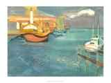 Boats in Harbor I