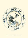 Blue and White Porcelain Plate VI