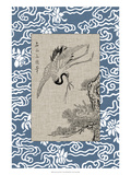 Asian Crane Panel I
