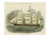 Antique Clipper Ship IV