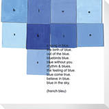 Blue Squares (French Bleu)