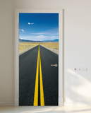 On the Go Door Wallpaper Mural