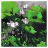Green Flowers II