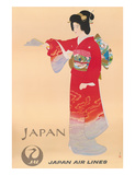 Japan Air Lines  Geisha c1950s