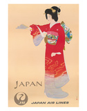 Japan Air Lines  Geisha c1950's