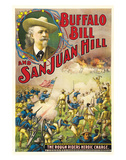 Buffalo Bill And San Juan Hill - 1902