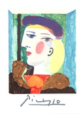 Femme Profile Reproduction pour collectionneurs par Pablo Picasso