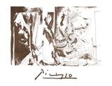 Chevalier en Armure  Page et Femme Nue