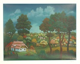 Untitled (Village Landscape)
