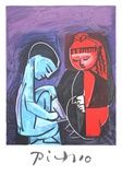 Deux Enfants Claude et Paloma