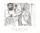 Etude pour Lesistratas Reproduction pour collectionneurs par Pablo Picasso