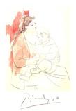 Maternite au Rideau Rouge